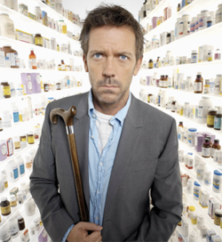 Gregory House, serie tv, lie to me, the walking dead, 24, lost, scrubs, recensioni, serialità, abitudini, the booth