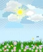 7745250-erba-rigogliosa-con-fiori il topo e la nuvola favola