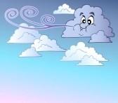 8195468-ventoso-cielo-con-nuvole-fumetto--illustrazione nuovla il topo e la nuvola, dalila tarnato, fiabe, favole per bambini, il topo e la nuvola