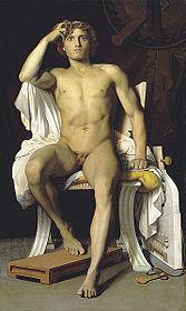 167px-Leon_Benouville_The_Wrath_of_Achilles , anchille, briseide,  miti classici, amore , troiani, mirmidoni, la storia di achielle e patroclo