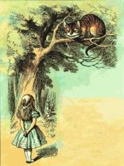 alice_cover_gatto_tenniel, alice nel paese delle meraviglie, stregatto, semiotica, Carrol, Caroll, alice in the wonderland, frasi libro di alice, frasi dello stregatto, frasi del brucaliffo, brucaliffo